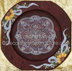 The Decorative Painting Store: A Touch of Lace Pattern DOWNLOAD, Newly Added Painting Patterns / e-Patterns