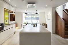 Modern kitchen by Fraher Architects Ltd https://www.homify.co.uk/ideabooks/23486/homify-360-the-lantern