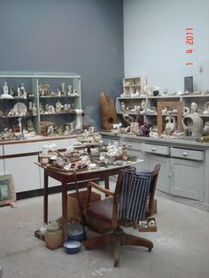 Henry Moore studio