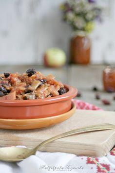 Chutney z pigwy, jabłek i owoców dzikiej róży