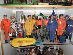 My Action Pilots with Golden Rod flight suit