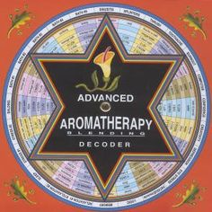 Decoder - Aromatherapy - Advanced by SomaTherapy by Dreaming Earth. $8.00. Each Decoder wheel provides a quick & easy references by just turning one of the 4 dials. The Advanced Aromatherapy Decoder wheel provides 94 listings in these categories: -illness- -work- -body care- -home- -animal- & -fun-. Turn wheel to find quick & easy reference for essential oil blending recipe. Specific blends are recommended for each listed need - such as a blend for PMS, another for cuts, etc. ...