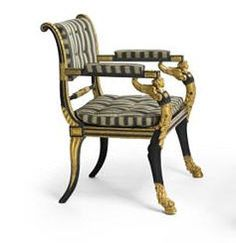 English Regency Style Chair
