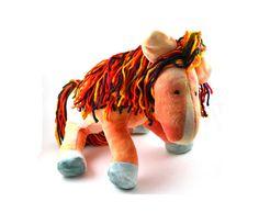 Stuffed Horse Plush Pony Toy by BrightLifeToys on Etsy, $55.00