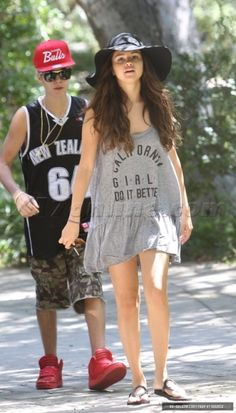 with justin bieber