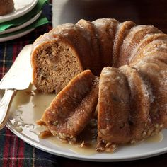 Rawhide's Whiskey Cake Recipe -For several years, our neighbor gave us a moist, whiskey-flavored cake. I've tweaked the recipe, and now my friends want this cake instead of homemade cookie platters. —Cindy Worth, Lapwai, Idaho