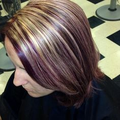 Peanut Butter And Jelly Hair Color Hair Pinterest