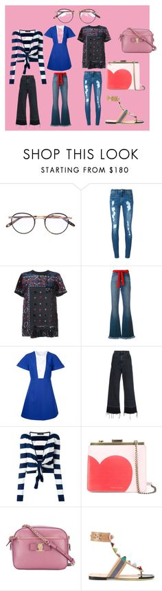 """Passion for Fashion"" by mkrish ❤ liked on Polyvore featuring Garrett Leight, Tommy Hilfiger, Sacai, Sonia Rykiel, Delpozo, Rachel Comey, Dolce&Gabbana, Tammy & Benjamin, Salvatore Ferragamo and Fendi"