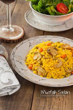 Zerdeçallı Sebzeli Basmati Pilavı – Mutfak Sırları – Pratik Yemek Tarifleri
