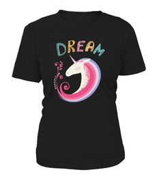 Unicorn Dream  #gift #idea #shirt #image #horselovershirt #llovehorse