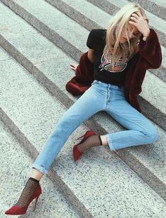 meia arrastão, polêmica, tendência, moda, looks, fishnet stockings, fashion, outfits