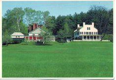 Unused postcard Saint  Gaudens National Historic Site
