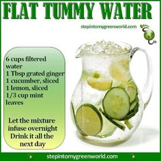 Before you pull on those breeches, ladies! Flat tummy flavored water! #weightlossrecipesforwomen