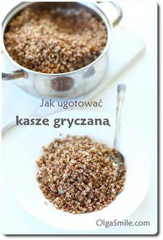 Buckwheat Recipes, Polish Recipes, Taste Of Home, Mushroom Recipes, Katana, Kitchen Hacks, Cool Kitchens, Dog Food Recipes, Cereal
