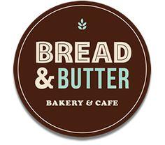 Bread & Butter Bakery and Cafe Auckland Butter Bakery, Bakery Cafe, Bread N Butter, Places To Eat, Logo Design, Auckland, Milk, Bar, Dining