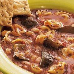 Crock Pot Italian Tortellini Stew