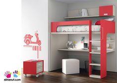 Dormitorio Infantil con Litera serie LUR