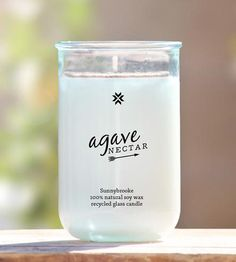 The sweetness of dune grass mixes with succulent blue agave in this scented soy candle. The single wick candle captures the essence of the desert at dusk, with the blend of night blooming fragrances. Each candle is poured into a recycled glass container and wrapped in a muslin bag for gift giving (or keeping).