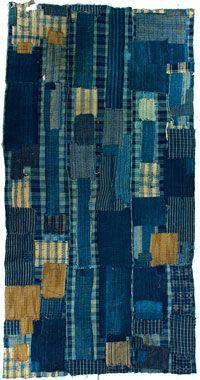 indigo patch quilt
