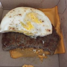 Can someone please teach all #McDonald's workers everywhere know that if someone orders a sausage egg & cheese minus the muffin you do NOT put the cheese on the bottom?! See picture to learn why!! #McDonald's #mcdonaldsfail #keto #lowcarbdiet #lowcarb by lowcarblolita