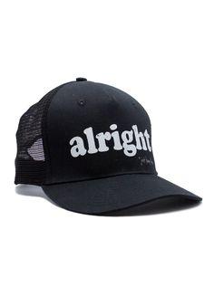 Alright Trucker Hat