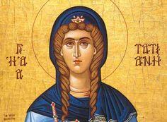Η Τατιανή έζησε τα χρόνια του αυτοκράτορα Αλέξανδρου Σεβήρου από επιφανείς γονείς και κατείχε το αξίωμα της διακόνισσας.
