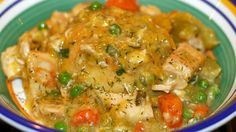 For the hubby: Slow Cooker Meal: Chicken and Biscuits