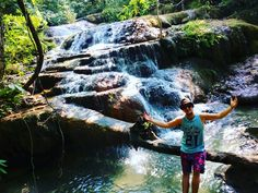 Welcome To The Jungle, Thailand, Waterfall, Watercolor, Instagram Posts, Travel, Colors, Voyage, Watercolor Painting