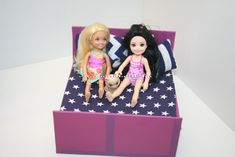 Barbie bútor, Barbie ágy, Chelsea ágy, Barbie furniture, Chelsea bed, Barbie bed