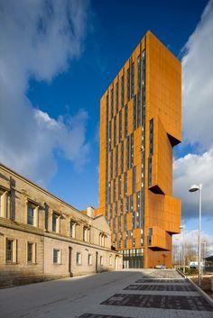 Leeds Metropolitan University Broadcasting Place in Leeds, England by Feilden Clegg Bradley Studios