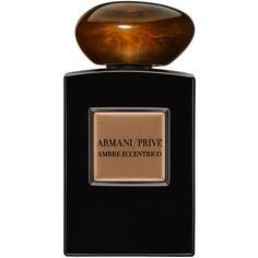 Giorgio Armani Prive Ambre Eccentrico (360 CAD) ❤ liked on Polyvore featuring beauty products, fragrance, fragrances, perfume, giorgio armani fragrances, giorgio armani perfume e eau de perfume