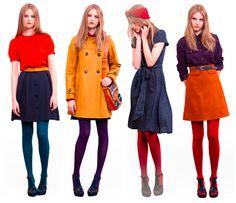 54 best Ideas for dress vintage winter tights 70s Fashion, Love Fashion, Winter Fashion, Fashion Outfits, Womens Fashion, Fashion Trends, Style Fashion, Preteen Fashion, Workwear Fashion