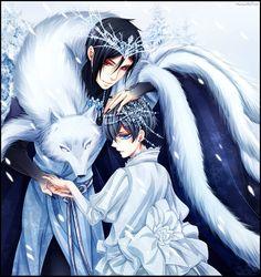 kuroshitsuji snow king   The Snow King by VermeilleRose on DeviantArt