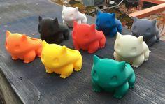 Plantador de Bulbasaur 3D impreso