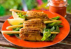 Poulet grillé à la citronnelleVoir la recette du Poulet grillé à la citronnelle >>