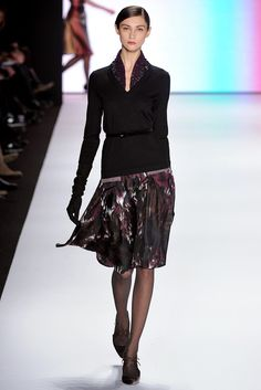 Carolina Herrera Fall 2011 Ready-to-Wear Fashion Show Collection