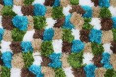 Pompom rug 5