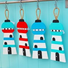 Lighthouse, hanging decorations by Daisy Mooo for From the Wilde