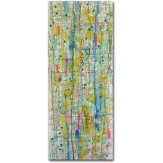 Trademark Fine Art Air du Temps 2 inch Canvas Art by Sylvie Demers, Size: 8 x 19, Multicolor