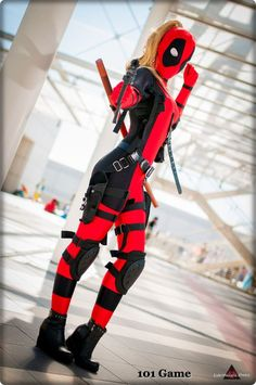 Cool and explody Lady Deadpool by. 101 Cosplay 30eea038c66a