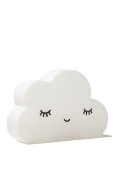 Add a soft glow to your bedroom at night. Our Cloud Lamp is perfect for a baby nursery or childs bedroom 20cm X 13.5cm X 5cm Requires 3x AAA batteries