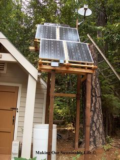 How to run a freezer with solar power