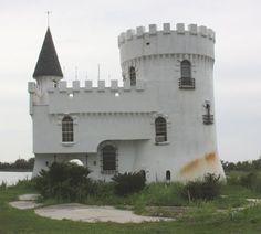 Casa de Castillo en Poco Canalizo irlandés cerca de Slidell, Luisiana