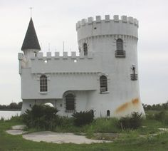 Castle House at Little Irish Bayou near Slidell, Louisiana