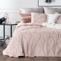 #homedecor #interiordesign #inspiration #decoration #decor #design #bedroomdecor #decor #bedroom #decor #pink #pasteldecor Pastel Decor, Comforters, Blanket, Pink, Bed, House, Design, Home Decor, Scandinavian