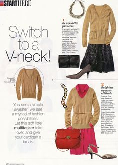 Clutch by Vieta featured in the March 2012 issue of Redbook Magazine