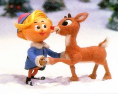 Rudolph the Red-Nosed Reindeer | Conan Airs Palin Shooting Rudolph the Red Nose Reindeer | The Art of ...