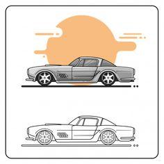 ferrari 410 Chevrolet Logo, Muscle Cars, Ferrari, Collection