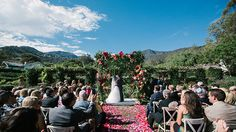 Brides: A Lush Secret Garden-Inspired Wedding at San Ysidro Ranch in California