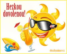 Hezkou dovolenou 1 Emoticon, Smiley, Tigger, Latina, Minions, Good Morning, Pikachu, Disney Characters, Fictional Characters